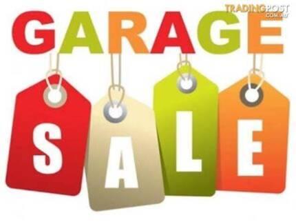 Garage sale 28 January 8am Mitcham SA
