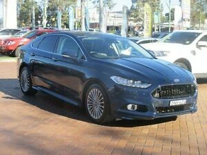 2016 Ford Mondeo MD Titanium SelectShift Blue 6 Speed Sports Automatic Hatchback Baulkham Hills The Hills District Preview