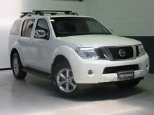 2011 Nissan Pathfinder R51 MY10 ST-L White 5 Speed Sports Automatic Wagon Windsor Gardens Port Adelaide Area Preview