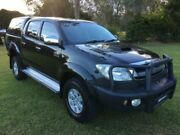 2009 Toyota Hilux KUN26R 09 Upgrade SR5 (4x4) Black 4 Speed Automatic Tuggerah Wyong Area Preview