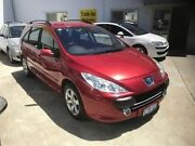 2006 Peugeot 307 T6 XSE HDi Touring Red 6 Speed Sports Automatic Wagon St James Victoria Park Area Preview