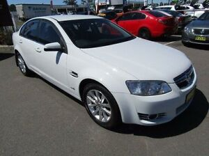 2012 Holden Berlina VE II MY12 White 6 Speed Sports Automatic Sedan Cardiff Lake Macquarie Area Preview
