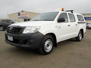 2012 Toyota Hilux White Automatic Utility