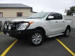 2012 Mazda BT-50 UP0YF1 GT White 6 Speed Sports Automatic Utility Devonport Devonport Area Preview