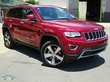 2015 Jeep Grand Cherokee WK MY15 Limited Red 8 Speed Auto Seq Sportshift Wagon Mount Gravatt Brisbane South East Preview