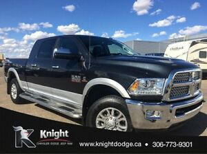 2013 Ram 3500 Laramie Mega Cab and AISIN HD Transmission