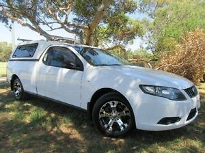 2009 Ford Falcon FG Super Cab White 4 Speed Automatic Cab Chassis Doveton Casey Area Preview