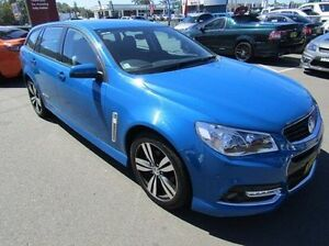 2015 Holden Commodore VF MY15 SV6 Sportwagon Storm Blue 6 Speed Sports Automatic Wagon Cardiff Lake Macquarie Area Preview