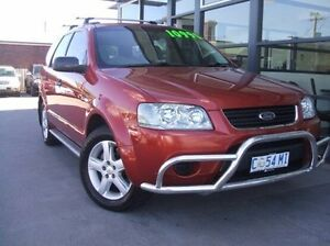 2007 Ford Territory SY TS Bronze 4 Speed Sports Automatic Wagon Invermay Launceston Area Preview