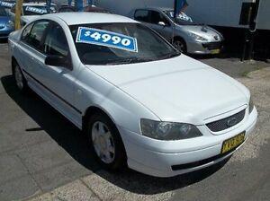 2003 Ford Falcon BA XT White 4 Speed Sports Automatic Sedan Broadmeadow Newcastle Area Preview