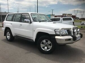 2008 Nissan Patrol GU 6 MY08 ST White 5 Speed Manual Wagon Morwell Latrobe Valley Preview
