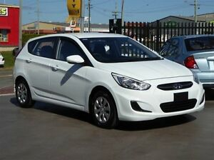 2015 Hyundai Accent RB2 MY15 Active White 4 Speed Automatic Sedan Strathpine Pine Rivers Area Preview