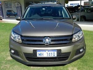 2013 Volkswagen Tiguan 5N MY14 103TDI DSG 4MOTION Pacific Gold 7 Speed Sports Automatic Dual Clutch Victoria Park Victoria Park Area Preview