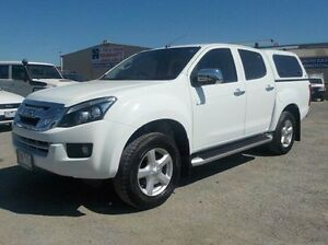 2012 Isuzu D-MAX White Sports Automatic Utility Pakenham Cardinia Area Preview