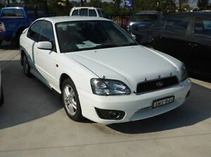 2002 Subaru Liberty Heritage AWD White 4 Speed Automatic Sedan Singleton Singleton Area Preview