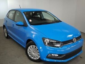 2016 Volkswagen Polo 6R MY16 66TSI Trendline Blue 5 Speed Manual Hatchback Mount Gambier Grant Area Preview