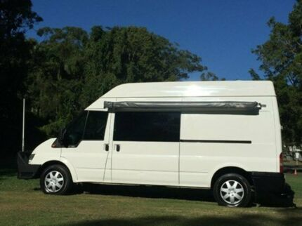 2006 Ford Transit VM High Roof Diamond White 6 Speed Manual Van Albion Brisbane North East Preview