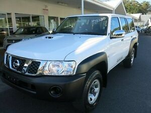 2013 Nissan Patrol Y61 GU 9 DX White 5 Speed Manual Wagon Coffs Harbour Coffs Harbour City Preview