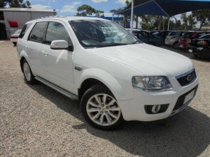 2009 Ford Territory White Sports Automatic Wagon Hastings Mornington Peninsula Preview
