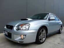 2002 Subaru Impreza S MY03 WRX AWD Silver 5 Speed Manual Sedan Braeside Kingston Area Preview