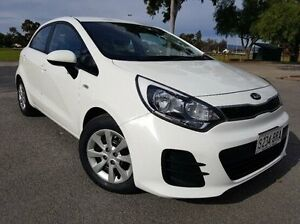 2015 Kia Rio UB MY15 S White 4 Speed Sports Automatic Hatchback Nailsworth Prospect Area Preview