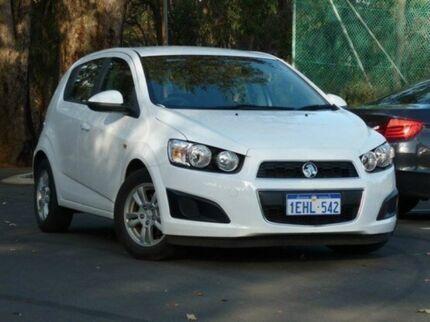 2013 Holden Barina TM MY14 CD Summit White 6 Speed Automatic Hatchback Kalamunda Kalamunda Area Preview