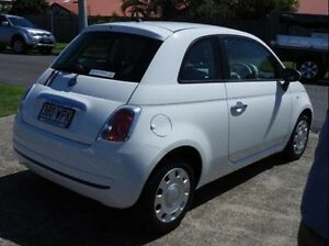 2015 Fiat 500 Series 3 POP White 5 Speed Sports Automatic Single Clutch Hatchback Morningside Brisbane South East Preview