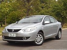 2010 Renault Fluence  Silver Constant Variable Sedan Medindie Gardens Prospect Area Preview