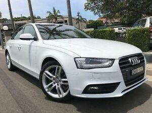 2015 Audi A4 B8 8K MY15 Ambition S tronic quattro White 7 Speed Sports Automatic Dual Clutch Sedan Summer Hill Ashfield Area Preview