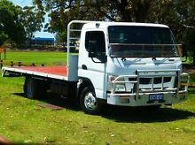 2011 Mitsubishi Canter  White Cab Chassis 4x2 Bassendean Bassendean Area Preview