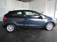 2013 Kia Rio UB MY14 S Blue 4 Speed Auto Seq Sportshift Hatchback Derwent Park Glenorchy Area Preview