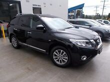 2015 Nissan Pathfinder R52 MY15 ST-L X-tronic 4WD Black 1 Speed Constant Variable Wagon Burwood Whitehorse Area Preview