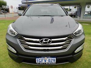 2013 Hyundai Santa Fe DM MY14 Elite Grey 6 Speed Sports Automatic Wagon Victoria Park Victoria Park Area Preview