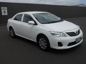 2013 Toyota Corolla ZRE152R Ascent White 4 Speed Automatic Sedan Mount Gambier Grant Area Preview