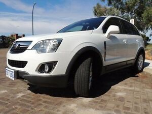 2013 Holden Captiva CG MY13 5 AWD LT White 6 Speed Sports Automatic Wagon Glendalough Stirling Area Preview