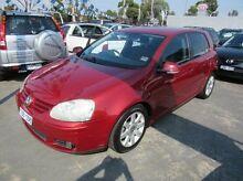 2005 Volkswagen Golf  Burgundy Manual Hatchback Fawkner Moreland Area Preview