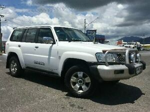 2008 Nissan Patrol GU 6 MY08 ST White 5 Speed Manual Wagon Bungalow Cairns City Preview