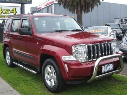 2011 Jeep Cherokee  Red Automatic Wagon Seaford Frankston Area Preview