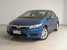 2012 Honda Civic 9th Gen VTi-L Blue 5 Speed Manual Sedan Mount Gambier Grant Area Preview