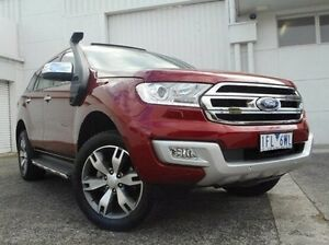 2015 Ford Everest UA Titanium Red 6 Speed Sports Automatic Wagon Bundoora Banyule Area Preview