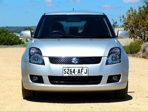 2009 Suzuki Swift RS415 RE4 Silver 5 Speed Manual Hatchback Christies Beach Morphett Vale Area Preview