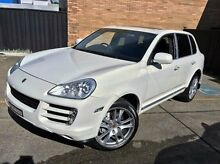 2008 Porsche Cayenne 9PA MY09 S White 6 Speed Sports Automatic Wagon Kings Park Blacktown Area Preview