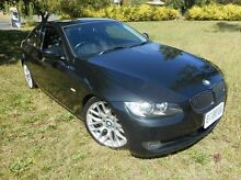 2009 BMW 320D E92 MY10 Steptronic Black 6 Speed Sports Automatic Coupe Derwent Park Glenorchy Area Preview