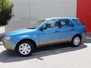 2005 Ford Territory SX TX Blue 4 Speed Sports Automatic Wagon Cannington Canning Area Preview