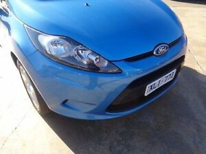 2009 Ford Fiesta WS LX Blue 4 Speed Automatic Hatchback Melton Melton Area Preview