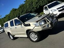 2012 Toyota Hilux KUN26R MY12 SR Double Cab Brown 5 Speed Manual Utility West Mackay Mackay City Preview