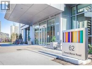 1.5YearNewCondo 1Br+Den 1Wr 2Lockers 1Parking 62 FOREST MANOR Rd