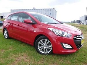 2013 Hyundai i30 GD Active Tourer Red 6 Speed Sports Automatic Wagon Singleton Singleton Area Preview