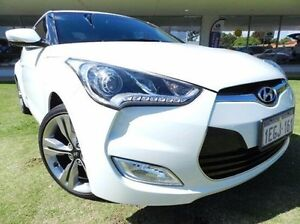 2013 Hyundai Veloster FS2 + Coupe White 6 Speed Manual Hatchback Victoria Park Victoria Park Area Preview
