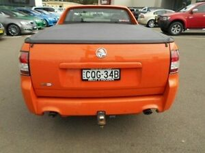2013 Holden Ute VF MY14 SV6 Ute Orange 6 Speed Sports Automatic Utility Cardiff Lake Macquarie Area Preview